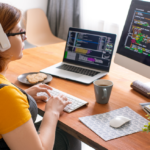 Mujeres en un mundo de tecnología